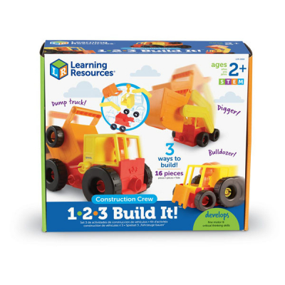 1-2-3 Build It! - Bouwvakkers