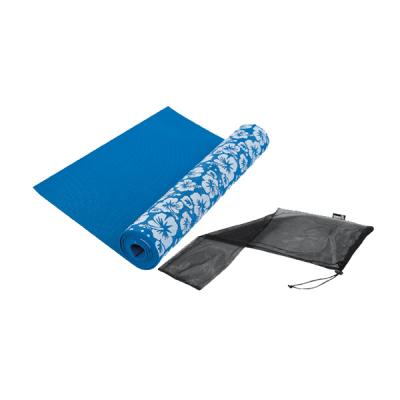 Tunturi yoga mat met print (incl. tas)