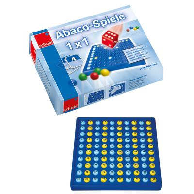 Abaco - Spellen 1 x 1 - Set met Abaco