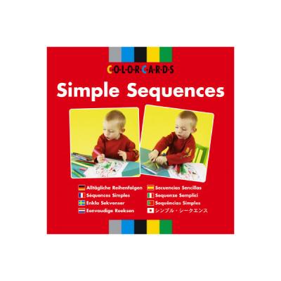Colorcards - Eenvoudige reeksen