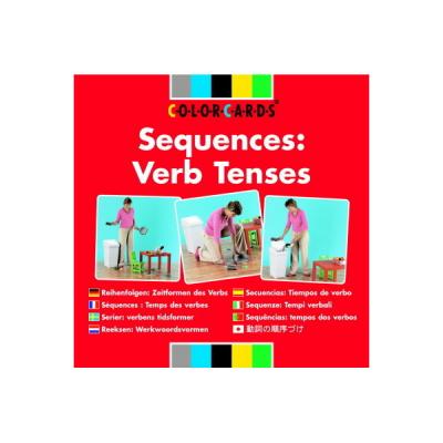 Colorcards - Reeksen - Werkwoordsvormen