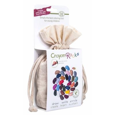 Crayon Rocks - Krijtjes van soja - Zakje met 32 krijtjes