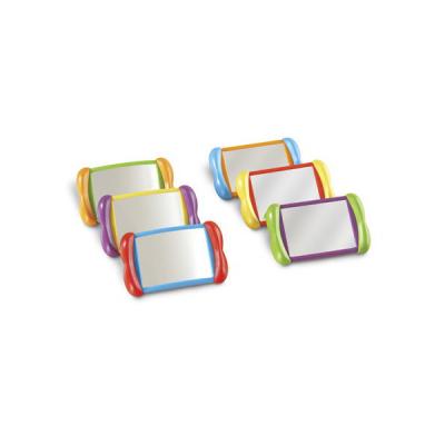 Dubbelzijdige spiegels (set van 6)