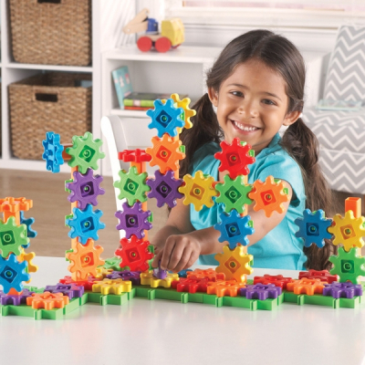Learning Resources - Gears! Gears! Gears! - Deluxe bouwset - Set van 100
