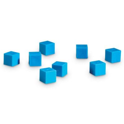 Geribbelde Plastic Grondtal Tien Units - Set van 100