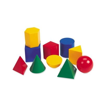 Learning Resources - Grote geometrische plastic vormen - Set van 10