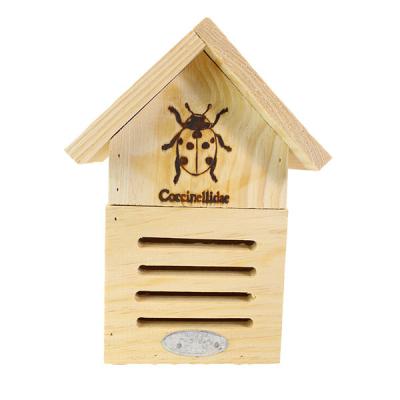 Hotel voor lieveheersbeestjes - Hout