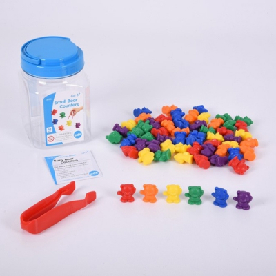 Edx - Kleine beertjes om te tellen - Set van 60