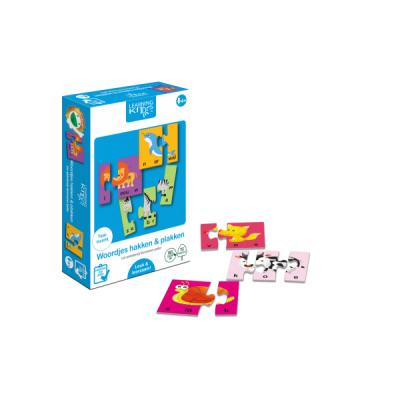 Learning Kitds - Woordjes Hakken & Plakken (26 x 3)