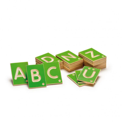 Leerspel hoofdletters