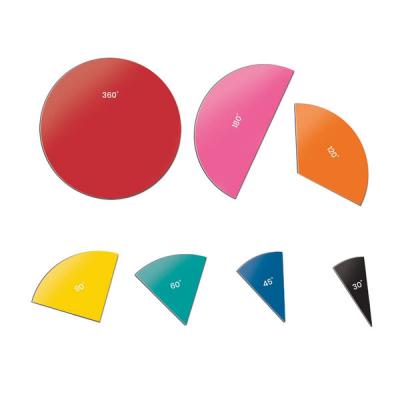 Magnetic Demonstration Rainbow Angle Circles