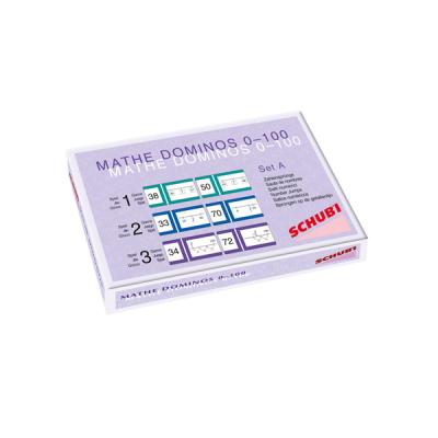 Mathe Dominos - Sprongen op de lege getallenlijn - Serie A