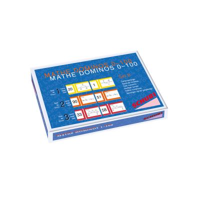 Mathe Dominos - Sprongen op de lege getallenlijn - Serie B