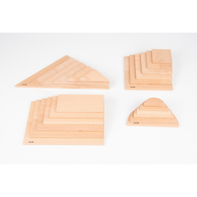 Natuurlijke architect panelenset - Set van 24