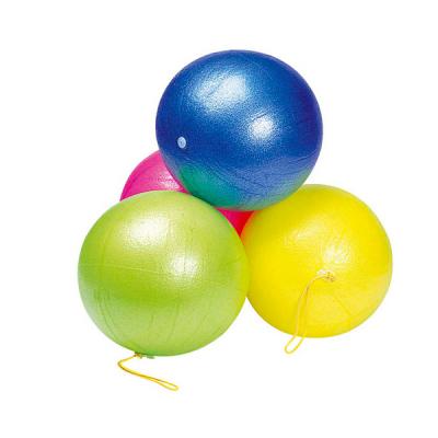 Opblaasbare speelbal met elastiek