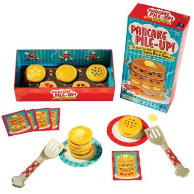 Pancake Pile-Up! Matchende Estafetterace