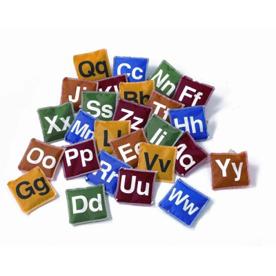 Pittenzakjes met letters (set van 26)
