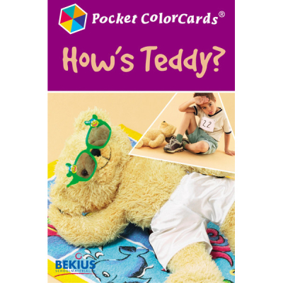 Pocket Colorcards - Hoe voelt Teddy zich?
