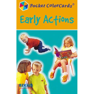 Pocket Colorcards - Werkwoorden