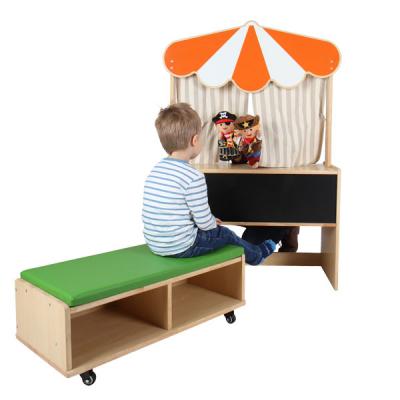 Poppentheater met losse bank - Kinderdagverblijf - Basisschool