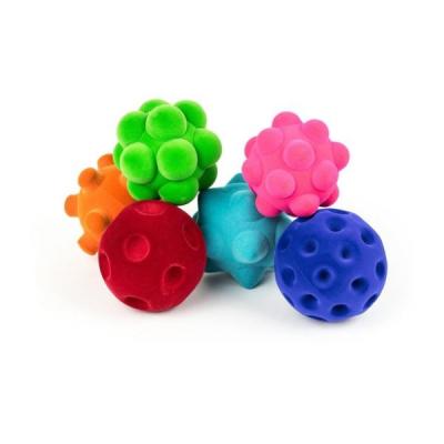 Rubbabu - Sensorische Ballen - Set van 6