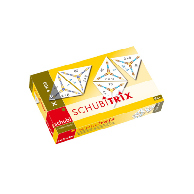Schubitrix - Vermenigvuldigen en delen tot 100