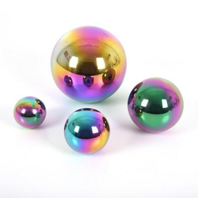 Sensorische gekleurde spiegelballen - Set van 4