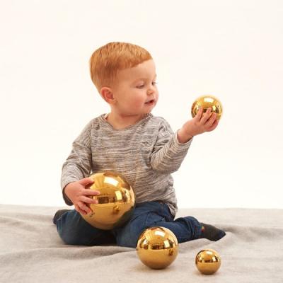 Sensorische reflecterende gouden ballen - Set van 4