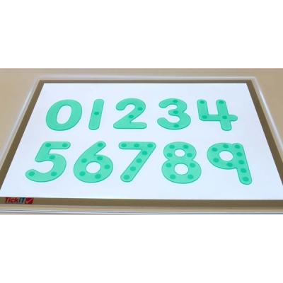SiliShapes cijfers met bobbeltjes