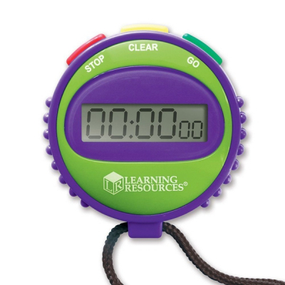 Learning Resources - Simpele stopwatch