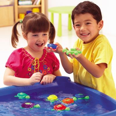 Smart Splash® schildpadden met vormen en kleuren