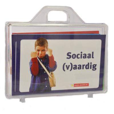 Sociaal (v)aardig activiteitenkaarten en bordspel