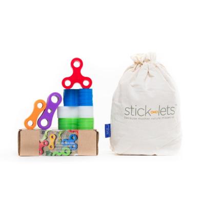 Stick-lets - Neigborhood Playdate Kit - Set van 36