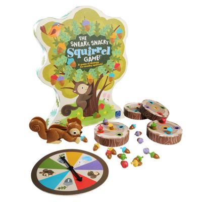 The Sneaky, Snacky, Squirrel Kleurmatching Spel