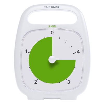 Time Timer - Leerklok - Plus - 5 minuten