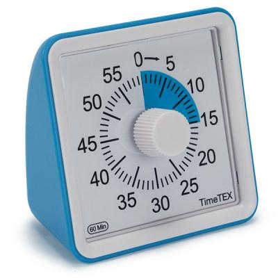 TimeTEX - Tijdsduurklok - Geluidloos - Compact