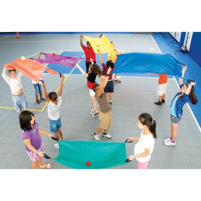 Tweepersoons parachutes (set van 6)