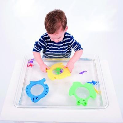 TickIt - Zachte vergrootglazen voor in water - Set van 3