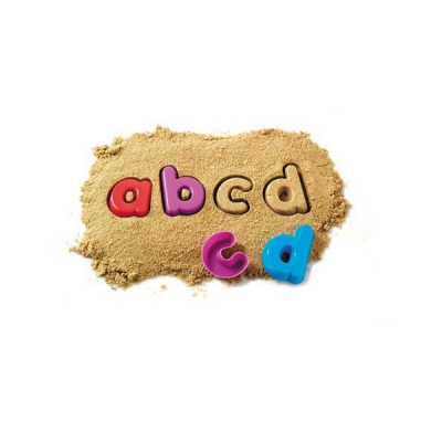 Learning Resources - Zandvormen - Kleine letters alfabet - Set van 26