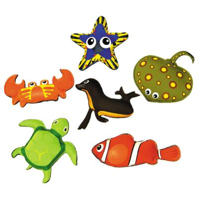 Zware zeedieren (set van 6)